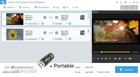 AnyMP4 Video Converter Ultimate 8.2.10 + Portable