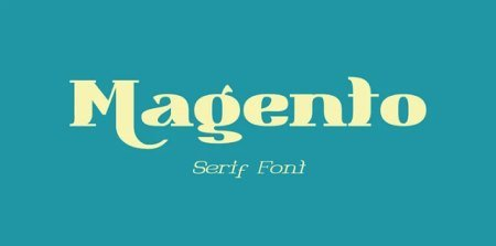 Magento Black Font