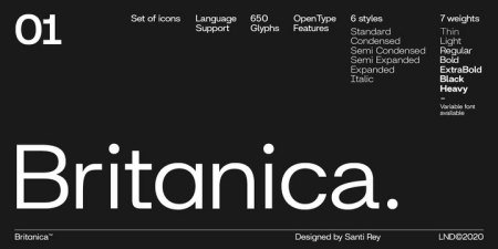 Britanica Font Family