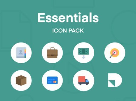 Essentials Icon Pack for Studio