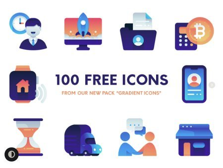 Gradient Icons Pack
