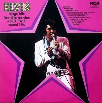 Elvis Presley - Elvis Sings Hits From His Movies (1972)