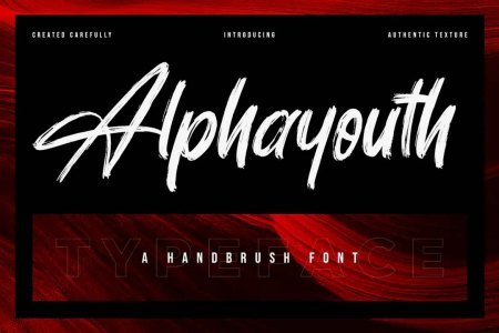 Alphayouth - Brush Font