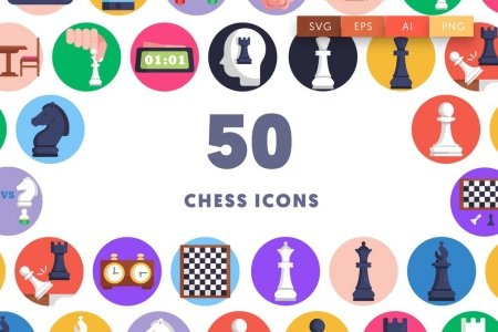 50 Chess Icons