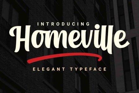 Homeville Font