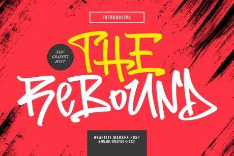 The Rebound Graffiti Font