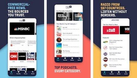 TuneIn Radio Pro - Live Radio v27.5 [Paid] [Mod Extra]