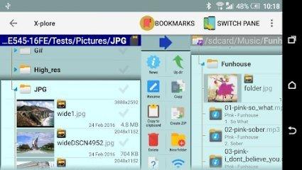 X-plore File Manager Donate v4.27.65 [Mod]