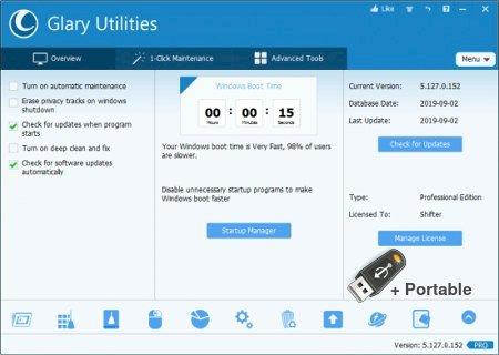 Glary Utilities Pro 5.173.0.201 + Portable