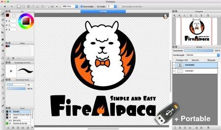 FireAlpaca 2.5.4 + Portable