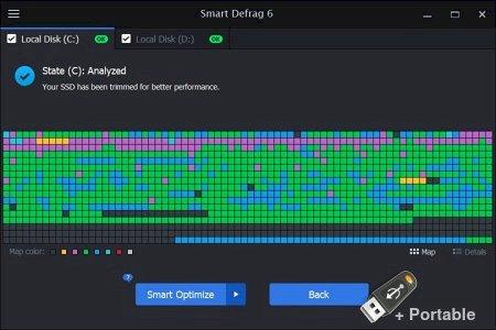 IObit Smart Defrag 7.0.0.62 + Portable