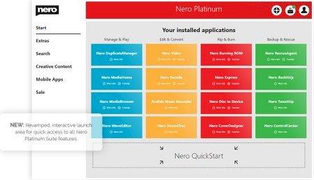 Nero Platinum Suite 2021 v23.0.1000 Multilingual + Content Pack