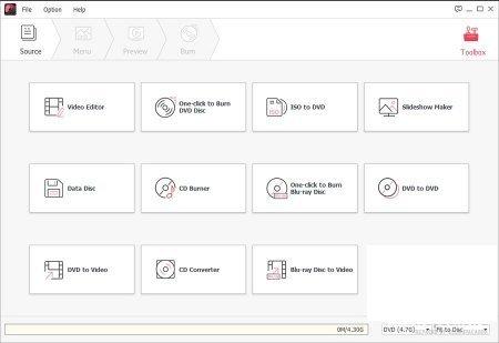 Wondershare DVD Creator 6.5.2.188