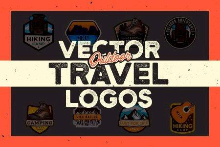 Outdoor Travel Logos