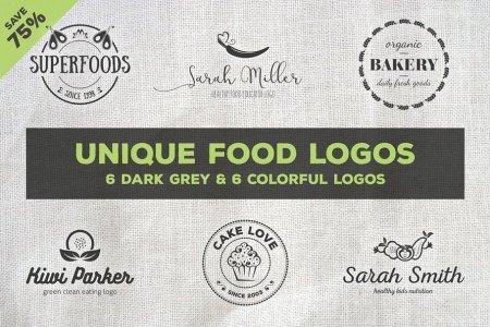 Unique Food Logos - Bundle