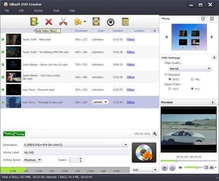 Xilisoft DVD Creator 7.1.3.20170209 Multilingual