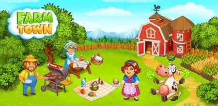 Farm Town: Happy farming Day & food farm game City v3.41 [Mod]